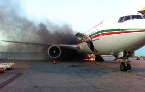 Վայրէջք կատարելիս ուղևորատար օդանավ է հրդեհվել․ ՏԵՍԱՆՅՈՒԹ