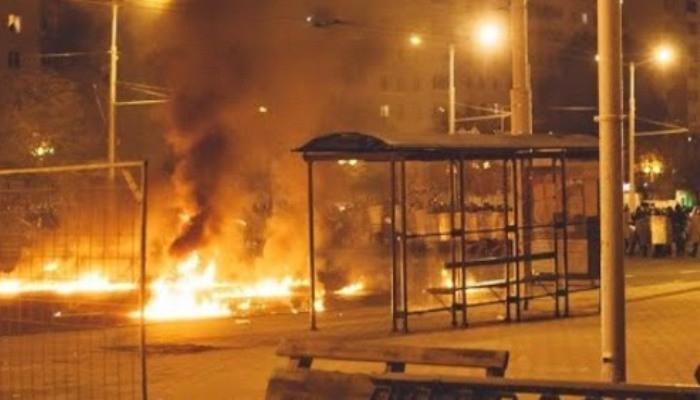 Մինսկը կրակների մեջ է, Բելառուսում բռնությունները շարունակվում են .նոր տեսաշարք
