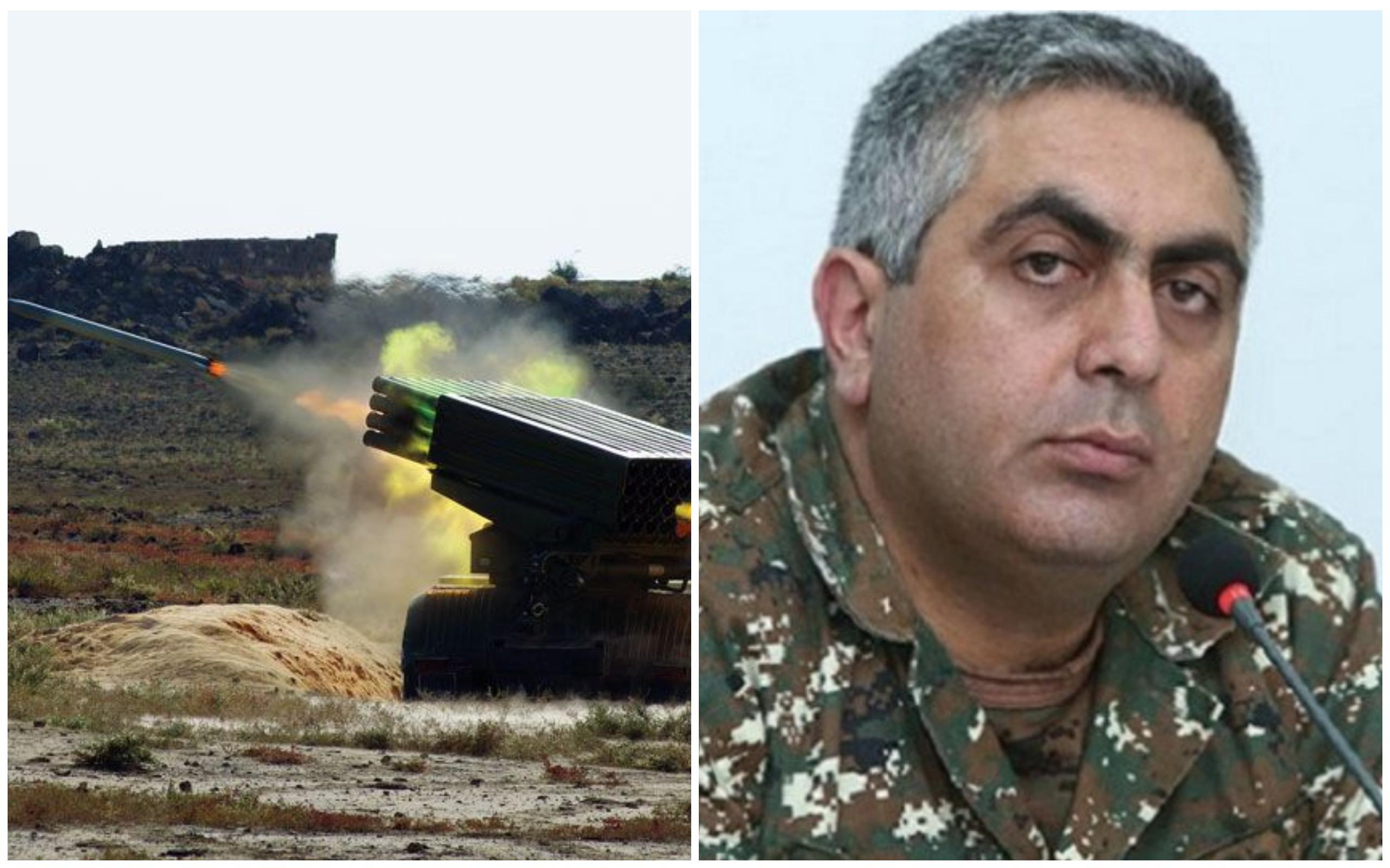 Իրավիճակը ռազմաճակատում... մանրամասնում է Արծրուն Հովհաննիսյանը