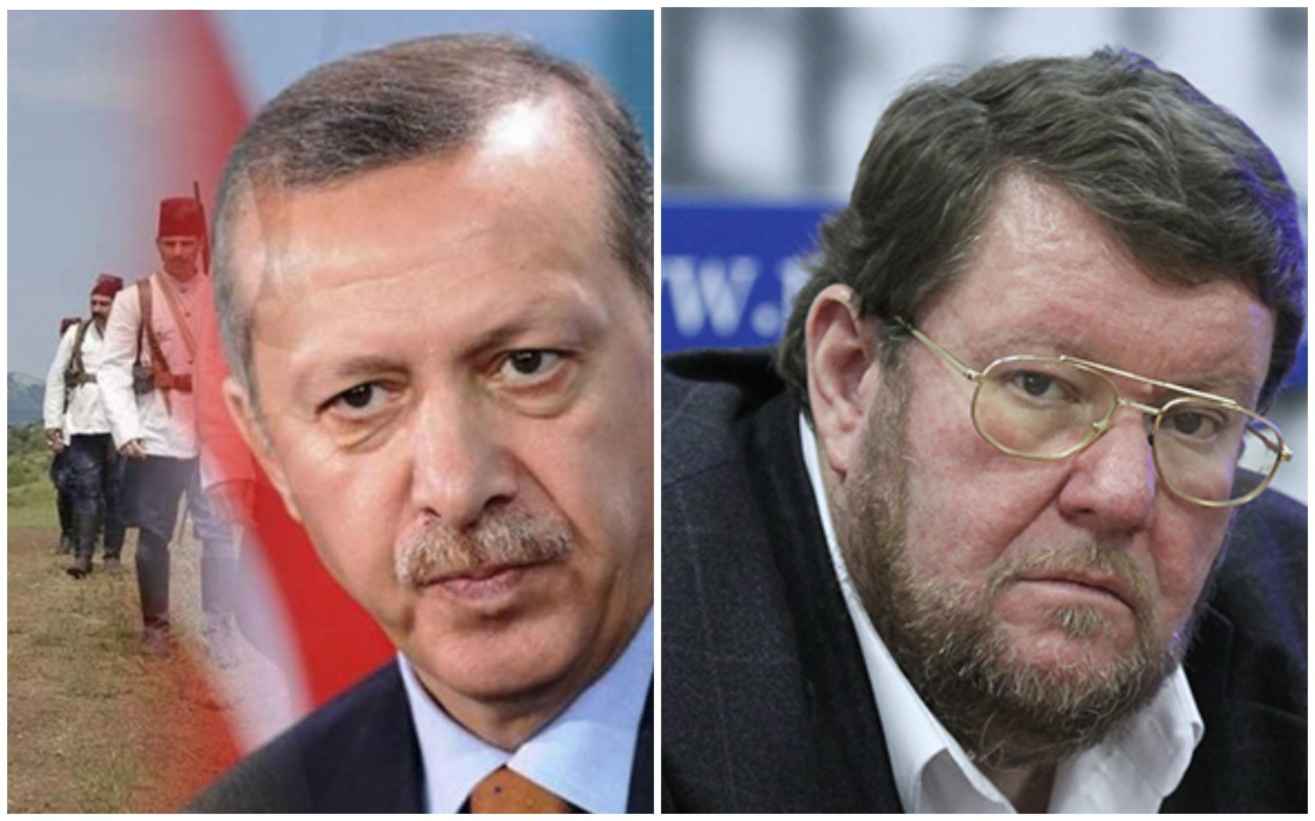 Թուրքիան մեր ստրատեգիական թշնամին է.. նրան չես կարող գնես, համոզես, չես կարող պայմանավորվել, որովհետև թշնամի է և վերջ . Սատանովսկի