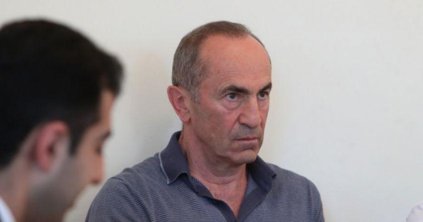 Ռ․ Քոչարյանի Տոյոտա-ի ավտոսրահը պետականացվում է
