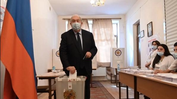 Քիչ առաջ Նախագահ Արմեն Սարգսյանը կատարեց իր ընտրությունը